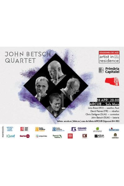 Poster eveniment John Betsch Quartet