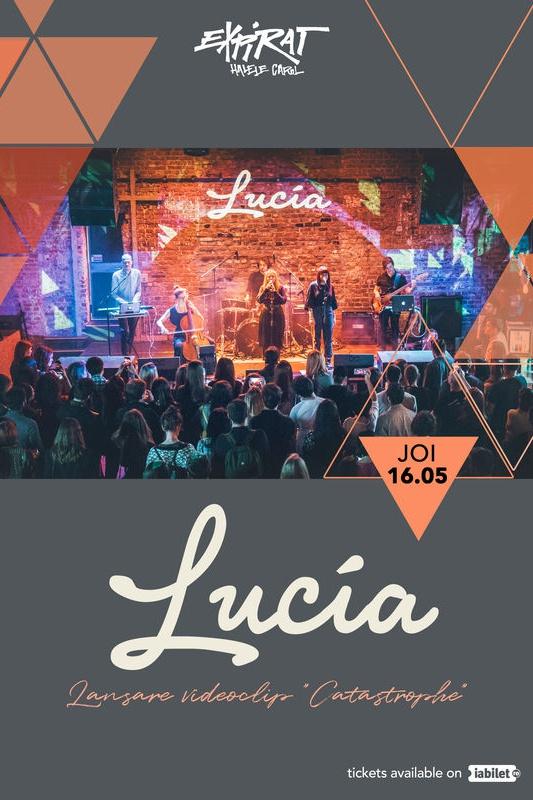 Lucia - lansare videoclip la Expirat Club