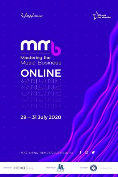 Poster eveniment Mastering the Music Business 2020 - ONLINE