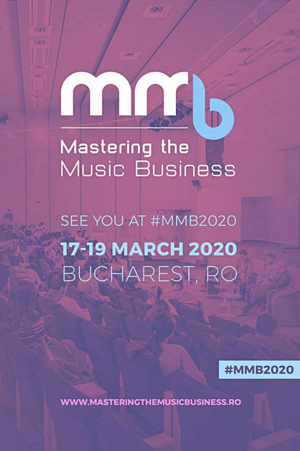 Mastering the Music Business 2020 - ANULAT la Hotel Caro