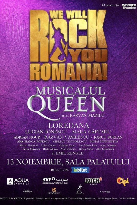 Musicalul Queen: