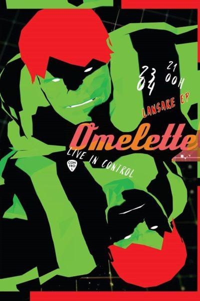 Poster eveniment Omelette - lansare EP
