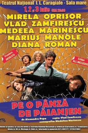 Pe o pânză de păianjen la Teatrul Naţional București