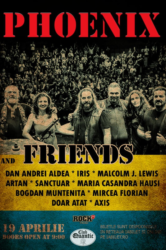 Phoenix & Friends la Quantic Club