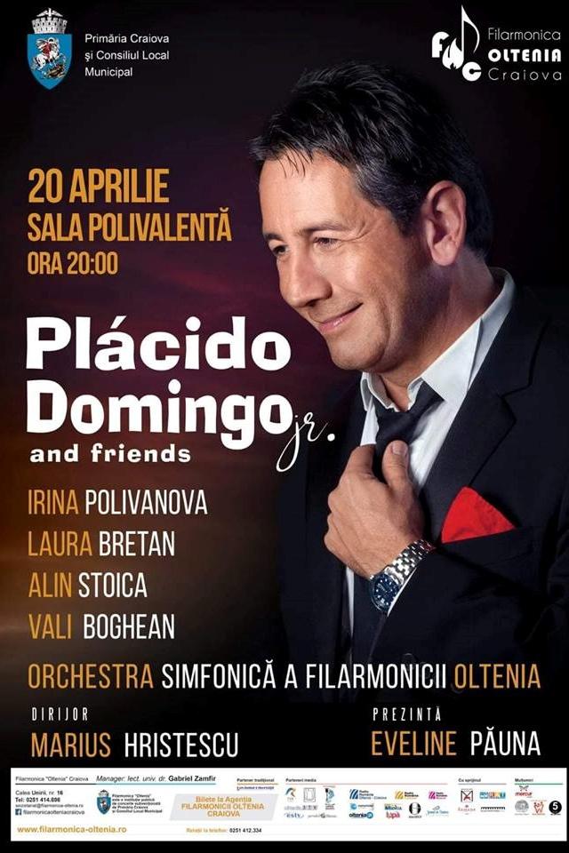 Plácido Domingo Jr. la Sala Polivalentă Craiova