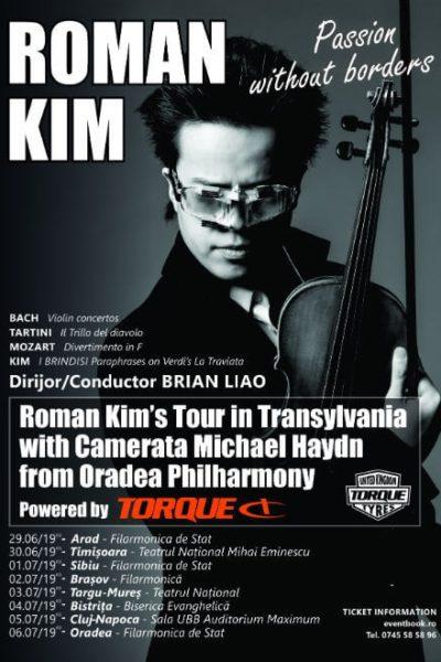 Poster eveniment Roman Kim