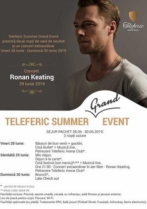 Ronan Keating la Teleferic Grand Hotel (Brașov)