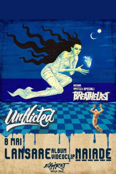 Poster eveniment Unflicted - lansare album