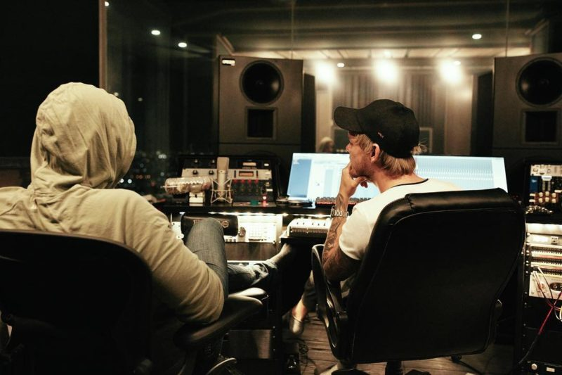 Avicii in the studio 2018