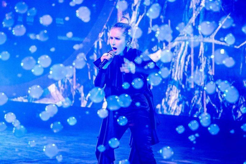 Ester Peony pe scena Eurovision in Concert la Amsterdam