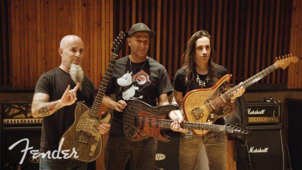 Scott Ian, Tom Morello & Nuno Bettencourt
