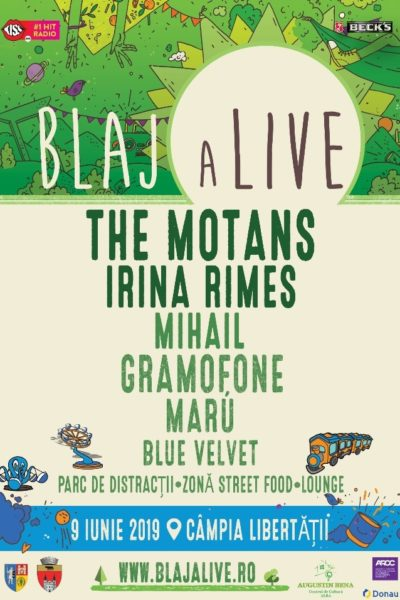 Poster eveniment Blaj aLive Festival 2019