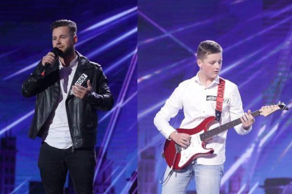 Radu Bor și Sebastian Munteanu - Românii au talent #9