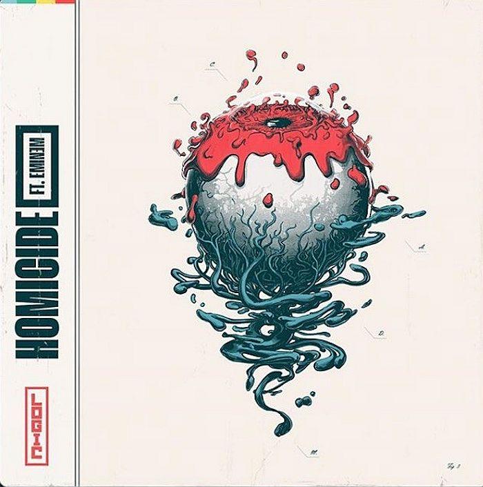 Coperta Single Logic Eminem Homicide