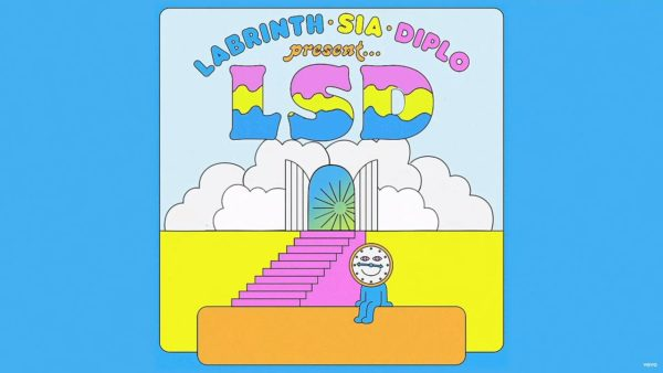 Lyric Video LSD Heaven Can Wait Diplo Sia Labrinth
