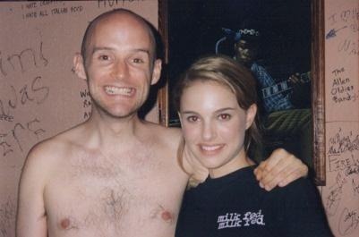 Moby și Natalie Portman