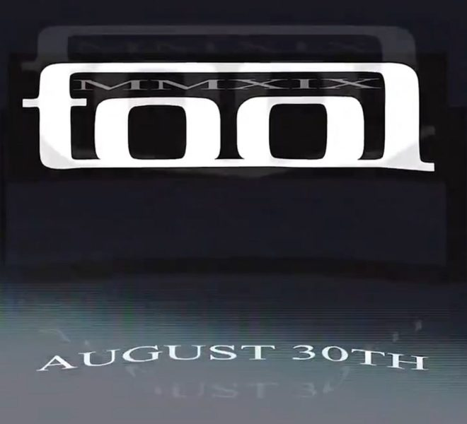 Teaser album nou TOOL 30 august 2019