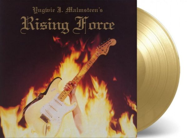 "Yngwie Malmsteen - ""Rising Force"" (copertă album)"