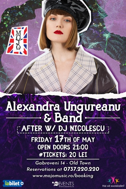 Alexandra Ungureanu & Band la Club Mojo