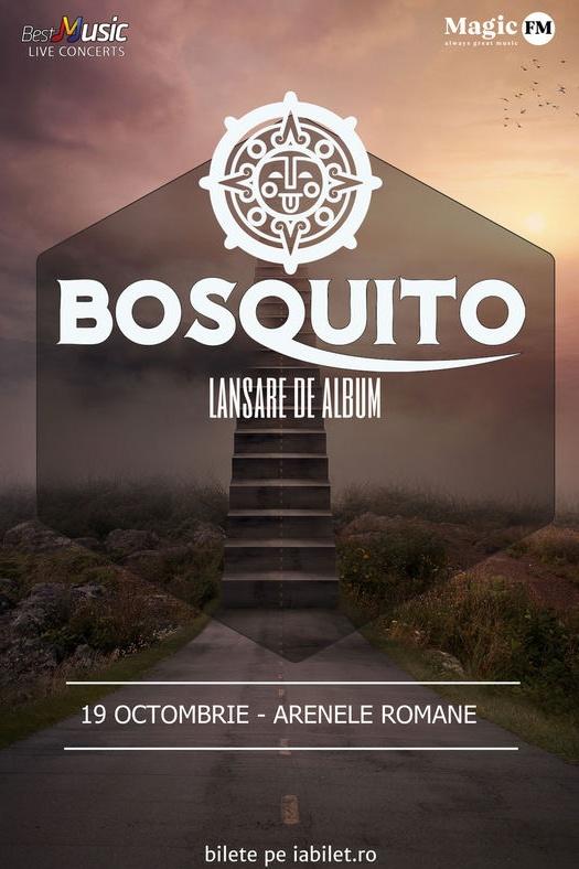 Bosquito - lansare album la Arenele Romane