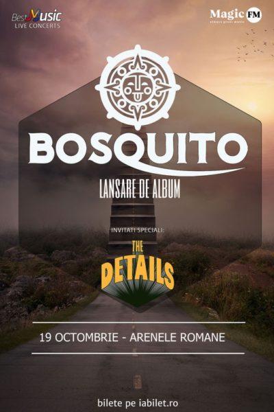 Poster eveniment Bosquito - lansare album