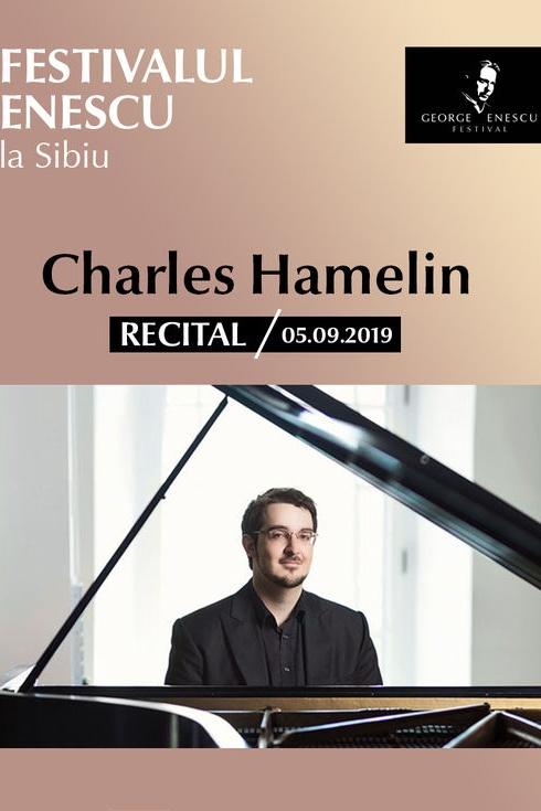 Recital Charles Hamelin - Festivalul Enescu la Sibiu la Sala Thalia
