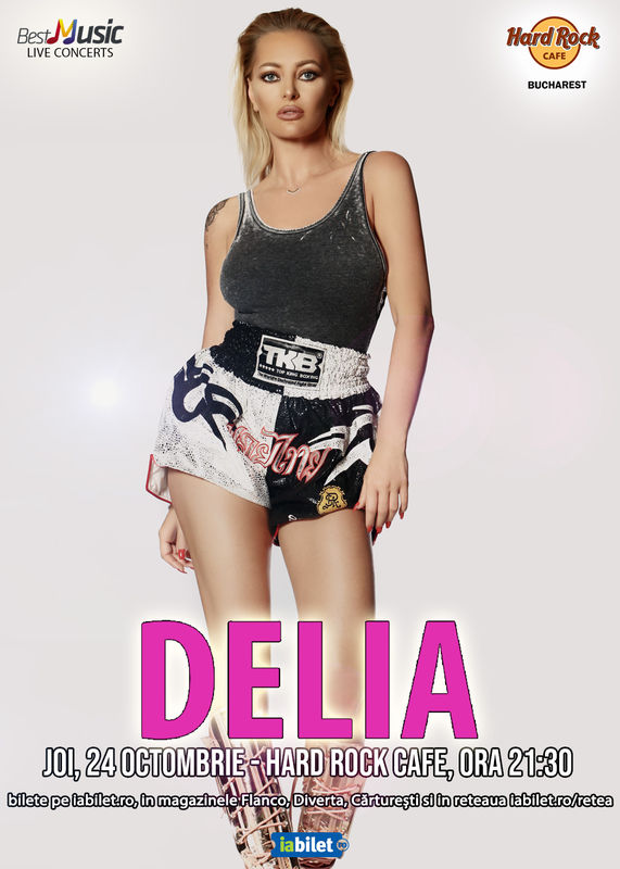 Delia la Hard Rock Cafe