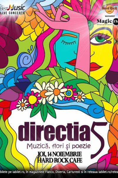 Poster eveniment Direcția 5