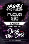 Drop the Bass 1 - Argatu x ROA x Dj Lexi