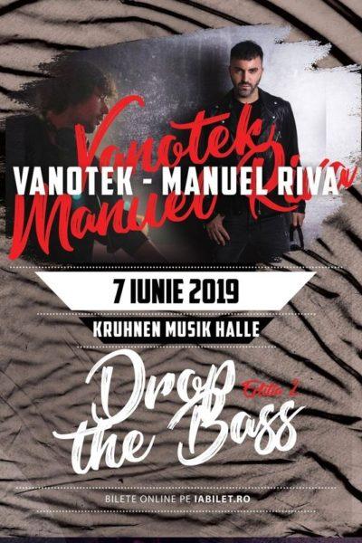 Poster eveniment Drop the Bass 2 - Vanotek x Manuel Riva