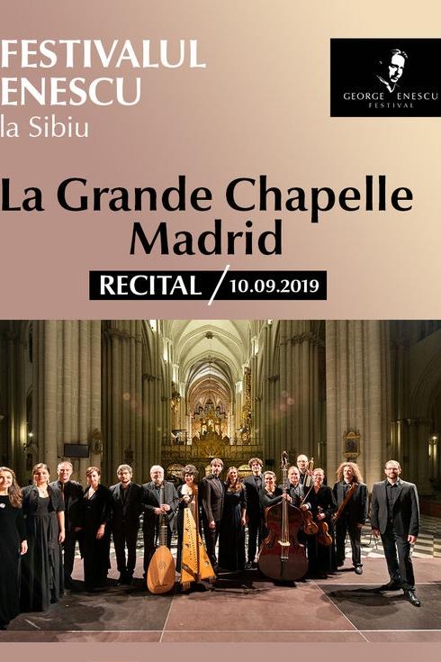 La Grande Chapelle Madrid - Festivalul Enescu la Sibiu la Biserica Catolică