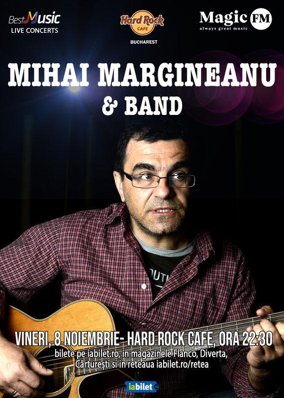 Mihai Mărgineanu la Hard Rock Cafe