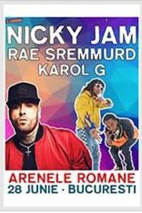 Nicky Jam, Rae Sremmurd & Karol G la Arenele Romane