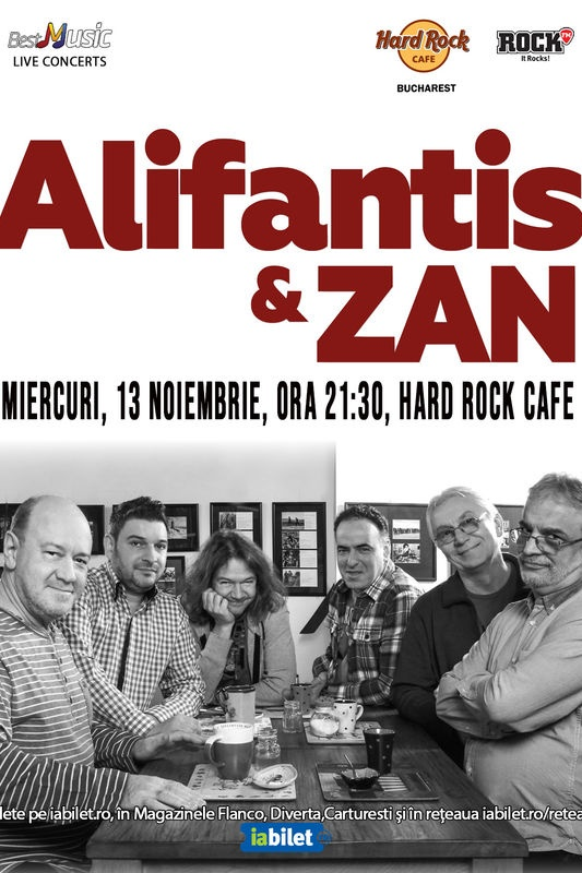 Nicu Alifantis & ZAN la Hard Rock Cafe