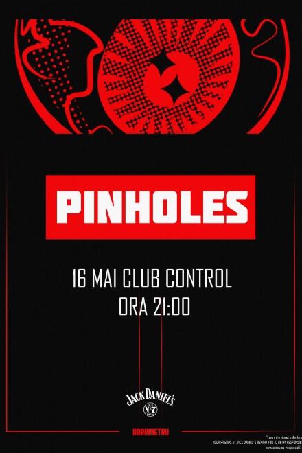 Pinholes - lansare album la Club Control