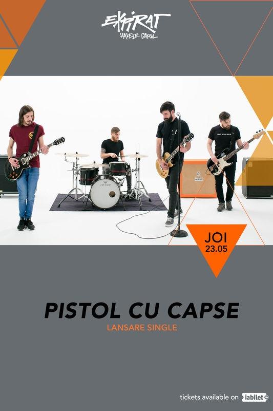 Pistol cu Capse - lansare single la Expirat Club