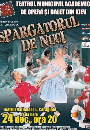 Spărgătorul de Nuci la Teatrul Naţional București