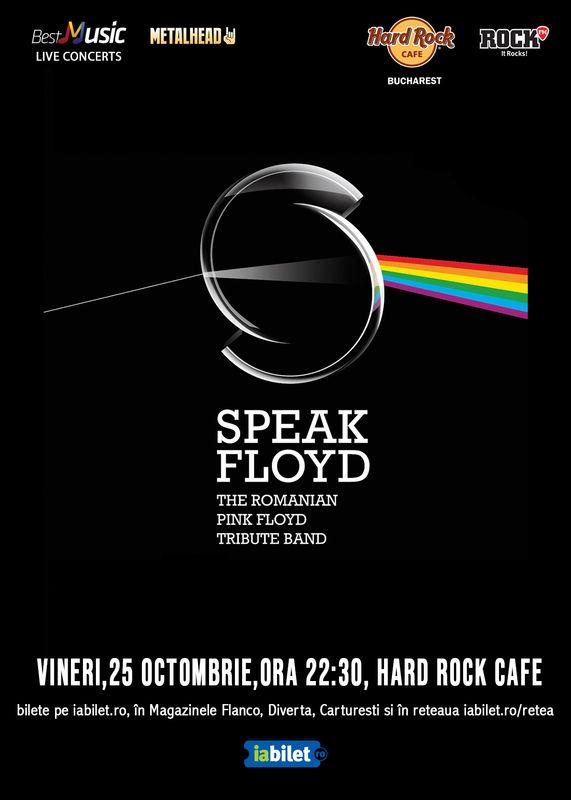 Speak Floyd - tribut Pink Floyd la Hard Rock Cafe