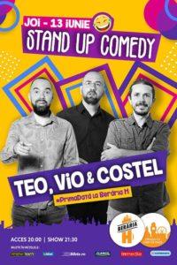 Stand Up Comedy - Teo, Vio și Costel