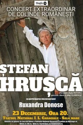 Ștefan Hrușcă - Concert extraordinar de colinde la Teatrul Naţional București
