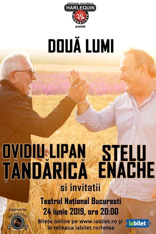 Stelu Enache și Ovidiu Lipan Țăndărică la Teatrul Naţional București
