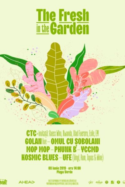 Poster eveniment The Fresh In The Garden 2019
