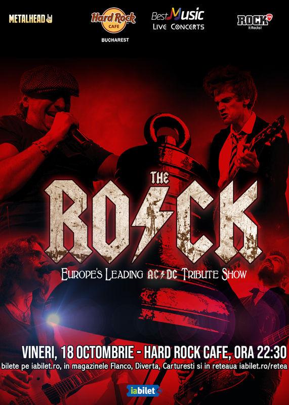 The R.O.C.K. - AC/DC Tribute la Hard Rock Cafe