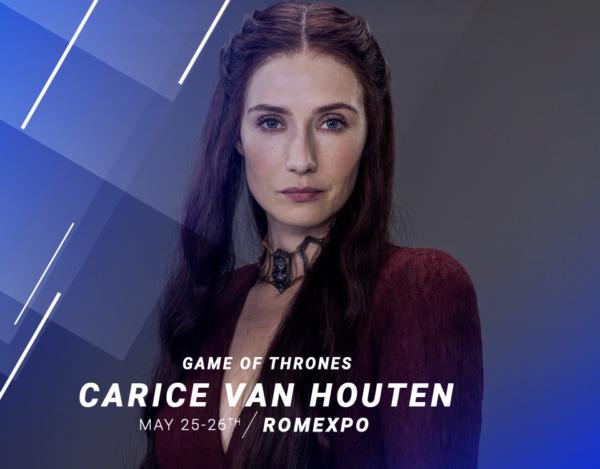 Carice Van Houten - Comic Con