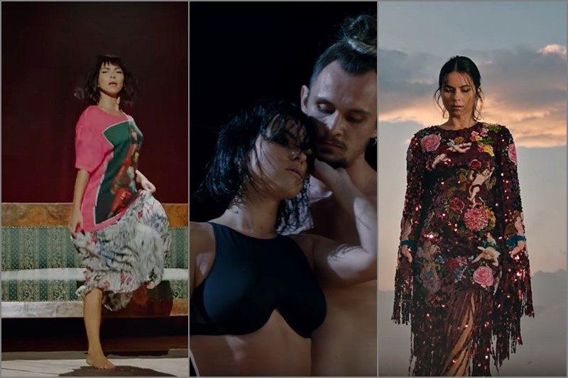 """Inna în videoclipurile """"Gitana"""", """"te Vas"""" și """"Fuego"""""""