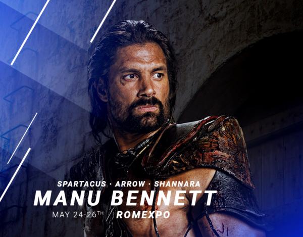 Manu Bennett - Comic Con