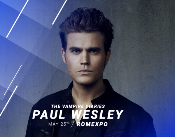 Paul Wesley - Comic Con
