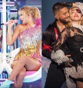 Taylor Swift & Brandon Urie / Madonna & Maluma