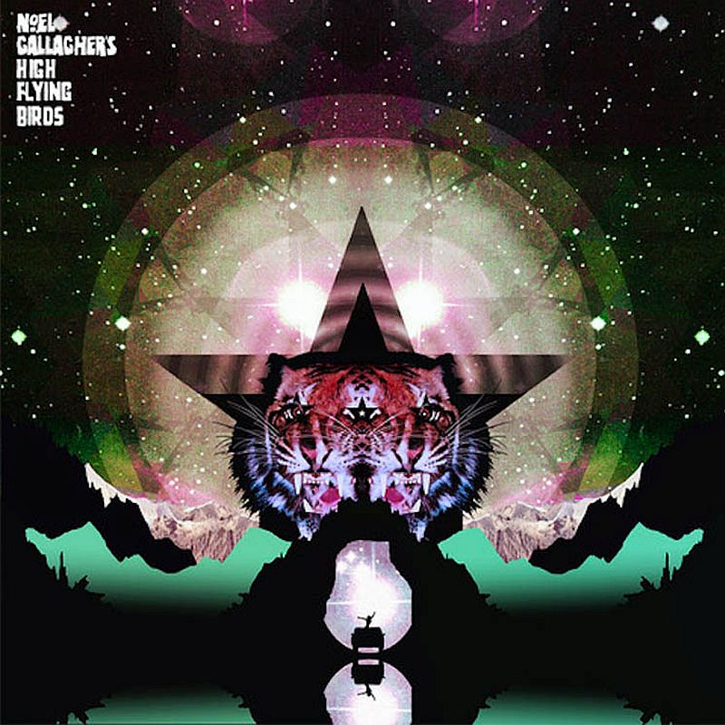 Coperta EP Noel Gallaghers High Flying Birds Black Star Dancing