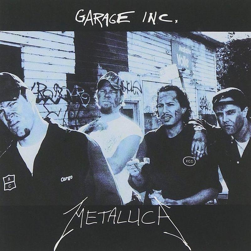 Coperta album Metallica Garage Inc